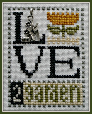HinzeitHZLB35 Love Bits ~ Love 2 Garden
