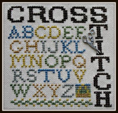 HinzeitHZP62 Word Play ~ Cross Stitch