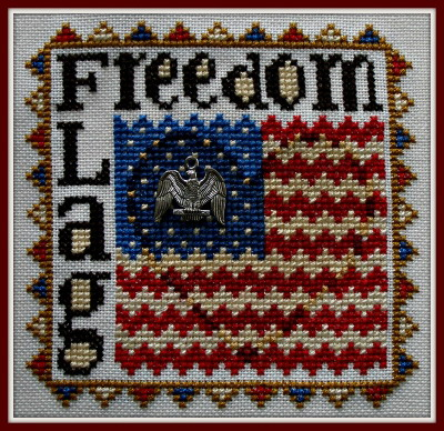 HinzeitHZP63 Word Play ~ Freedom Flag