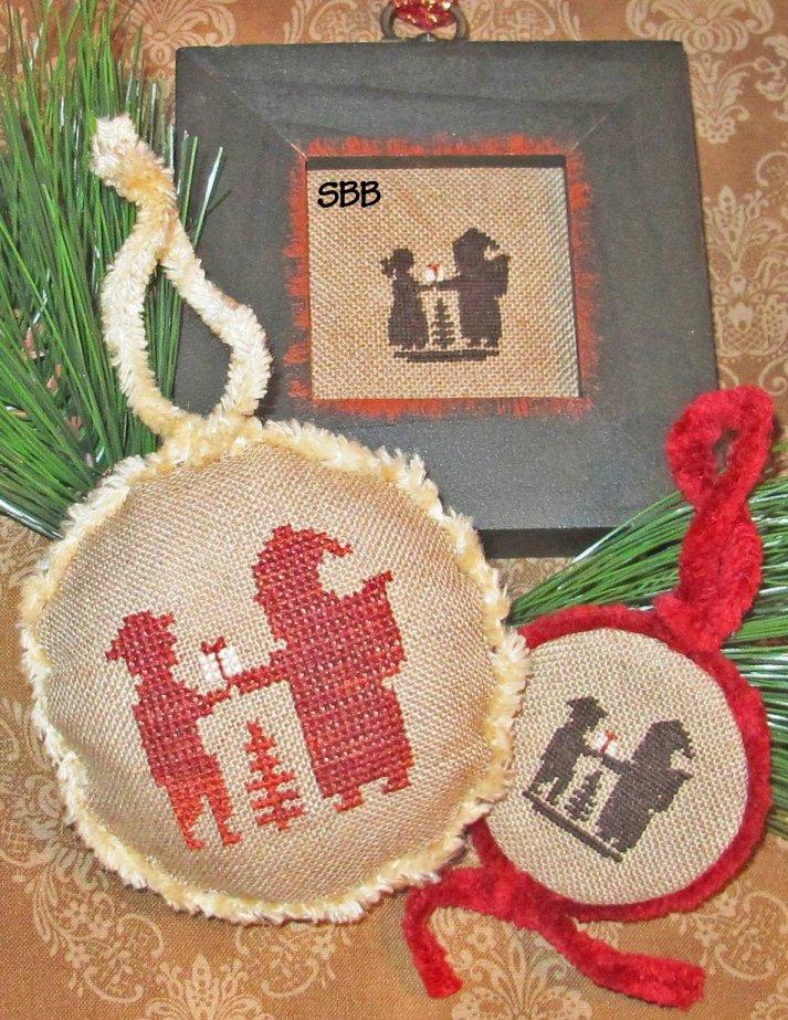 Homespun Elegance LTD Santa & Children Silhouettes