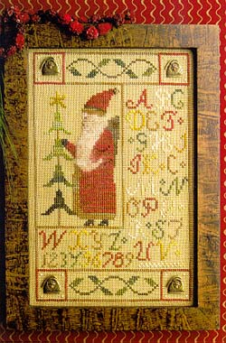 Homespun Elegance LTD Santa Button Sampler