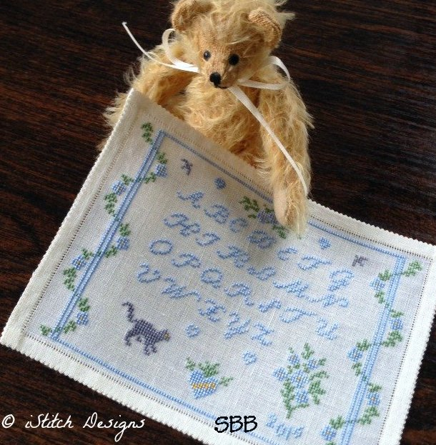 IStitch Designs Sew Forget Me Not