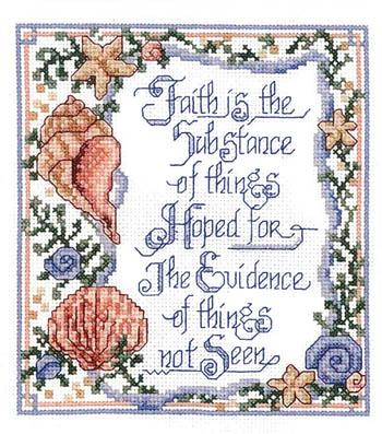 Imaginating Faith Is Not Seen