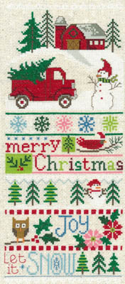 Imaginating Merry Christmas Sampler