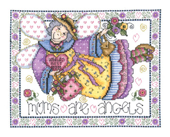 Imaginating Mom's Are Angels