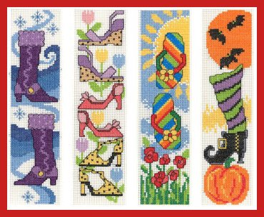 Imaginating Shoes For All Seasons Bookmarks