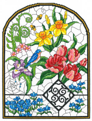Imaginating Spring Stained Glass