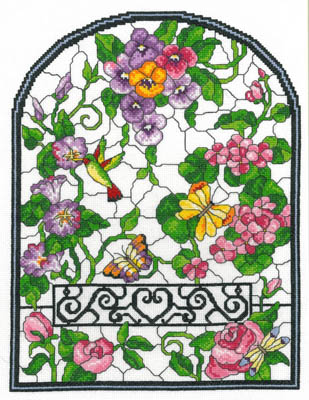 Imaginating Summer Stained Glass