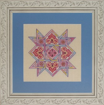 Ink Circles Celtic Quilts: Friendship Star