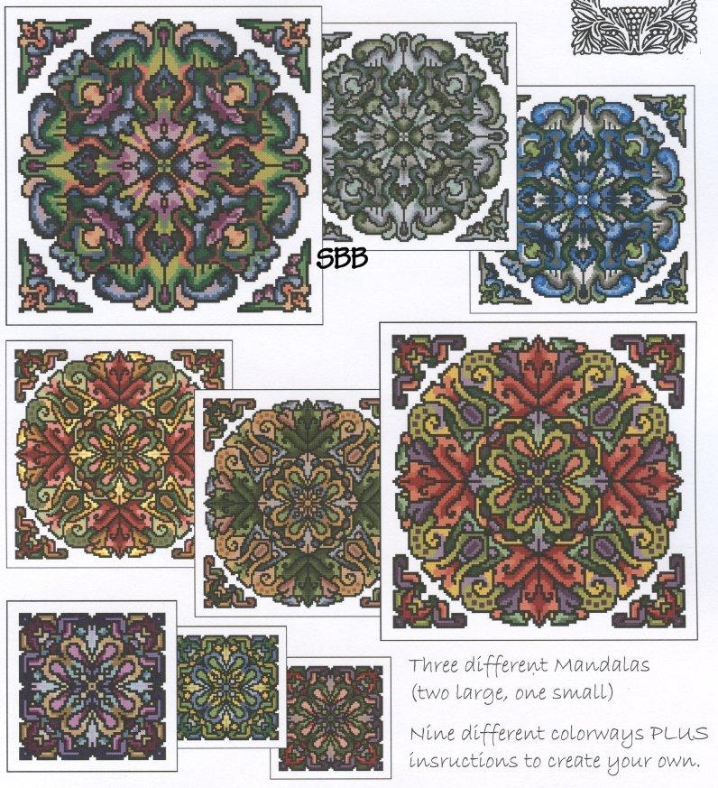 Ink Circles RYO* Mandala Set 5