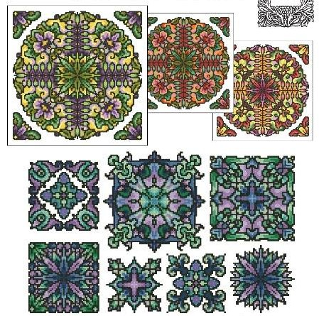 Ink Circles RYO* Mandala Set 7