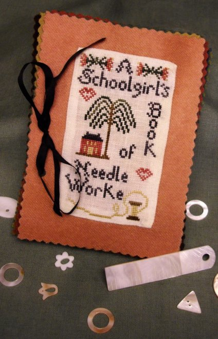 Island Cottage Needle Arts A Schoolgirl's Book of Needleworke - January
