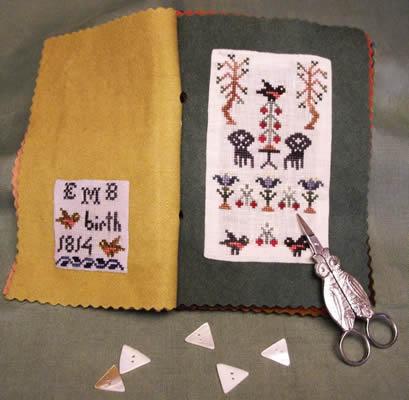 Island Cottage Needle Arts A Schoolgirl's Book of Needleworke - March