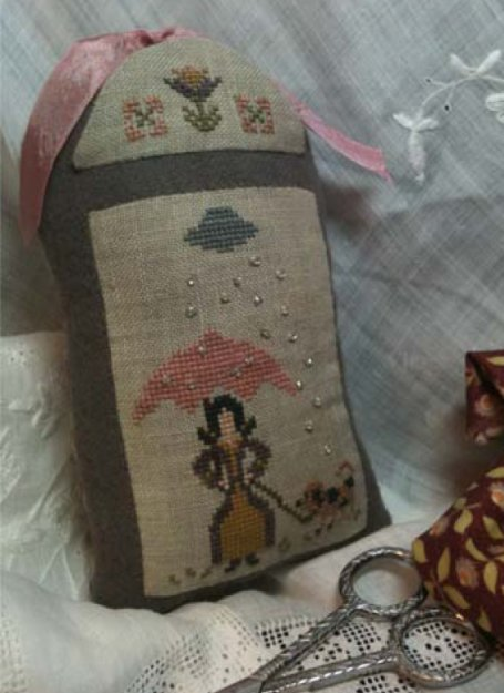 Island Cottage Needle Arts Woolie Kit #5 April Showers