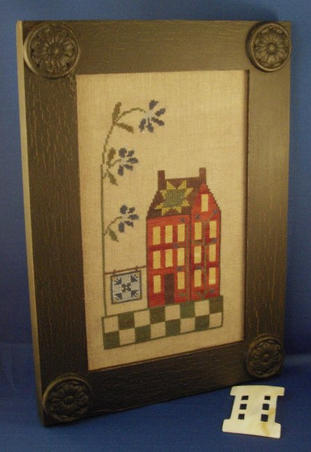 Island Cottage NeedleArts Quilted Shaker Cottage