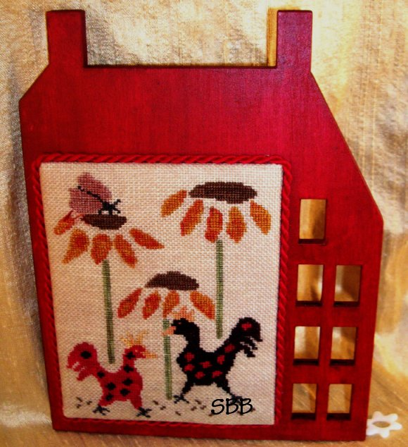 Clearance Island Cottage NeedleArts#4 Saltbox Chickens