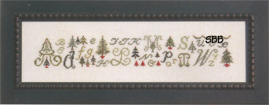 JBW Designs ABCs & Christmas Trees