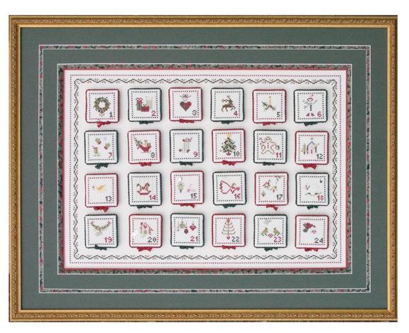 JBW Designs Advent Calendar & Petite Ornaments