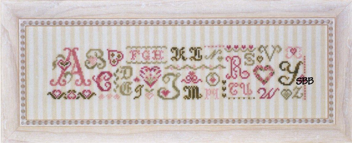 JBW Designs  Alphabet Hearts