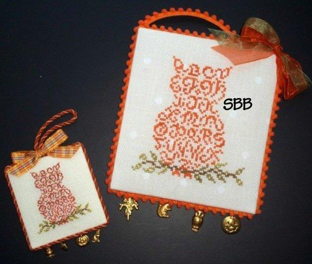 JBW Designs  Alphabet Owl