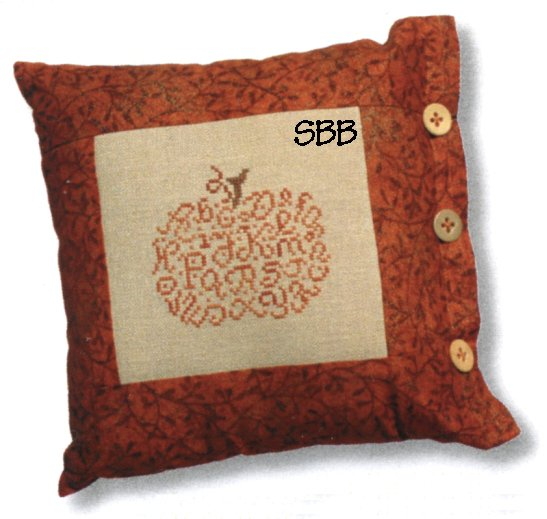 JBW Designs Alphabet Pumpkin