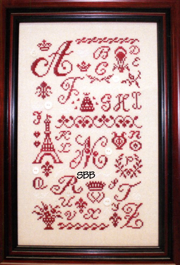 JBW Designs Alphabetique