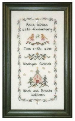 JBW Designs Anniversary Sampler