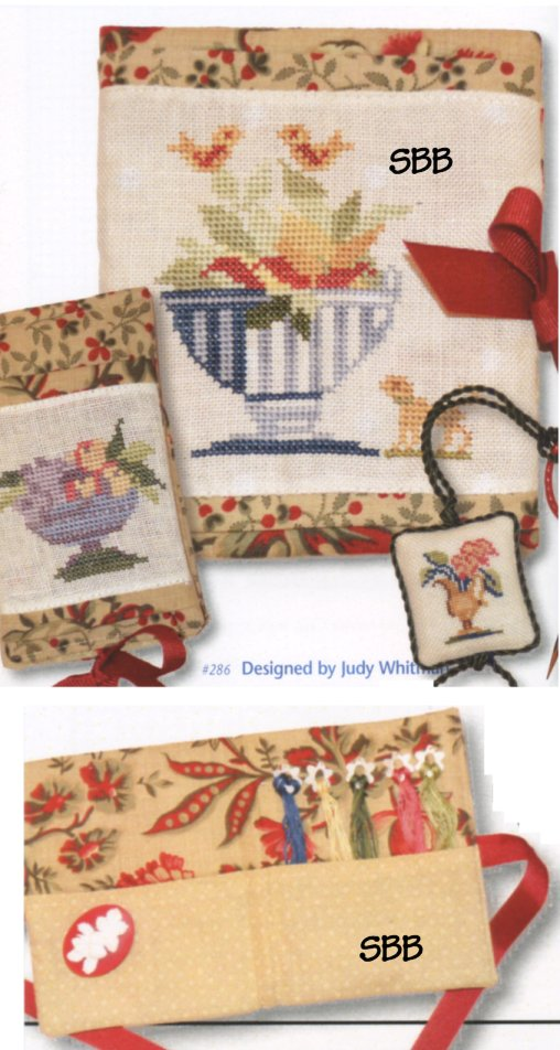 JBW Designs  Antique Vases Needlework Accessories
