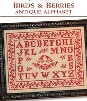 JBW DesignsBirds & Berries Antique Alphabet