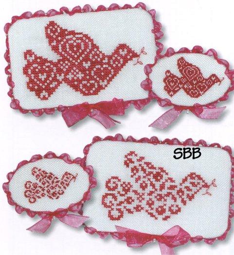 JBW Designs Christmas Doves I