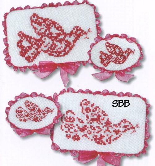 JBW Designs Christmas Doves II