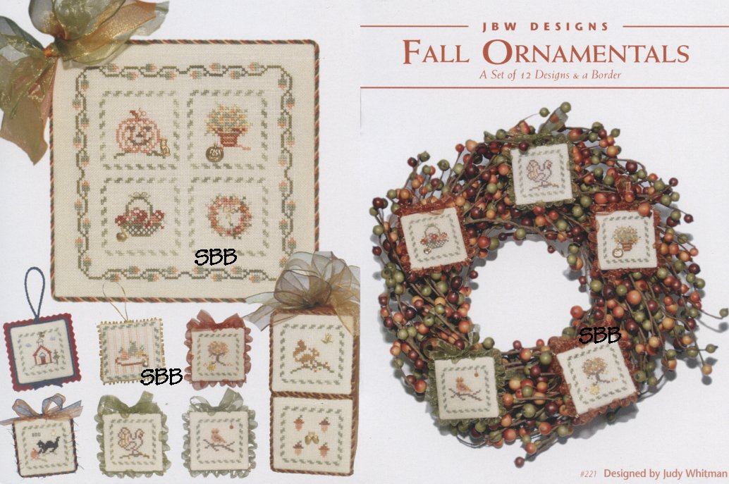 JBW Designs Fall Ornamentals Collection