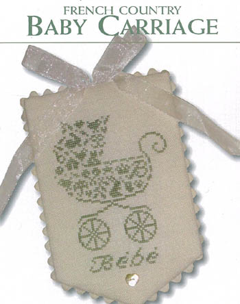 JBW Designs French Country ~ Baby Carriage