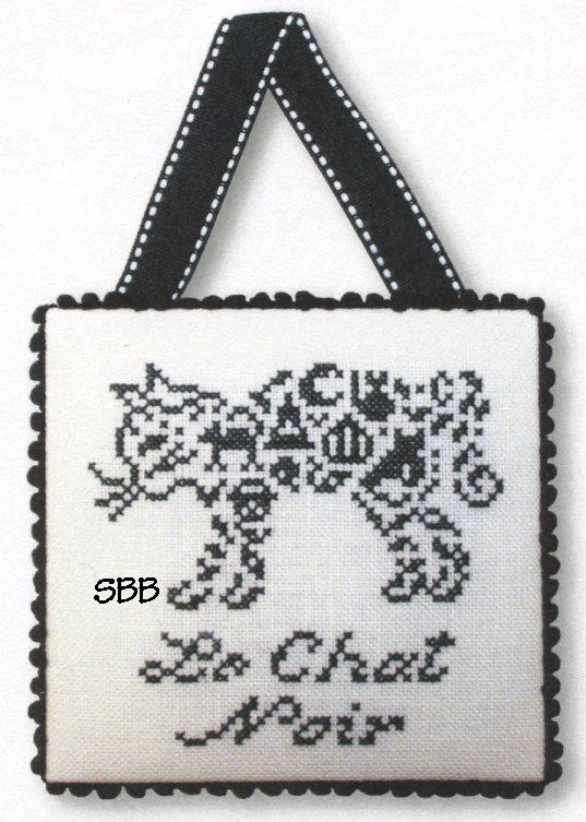 JBW Designs  French Country ~ Black Cat