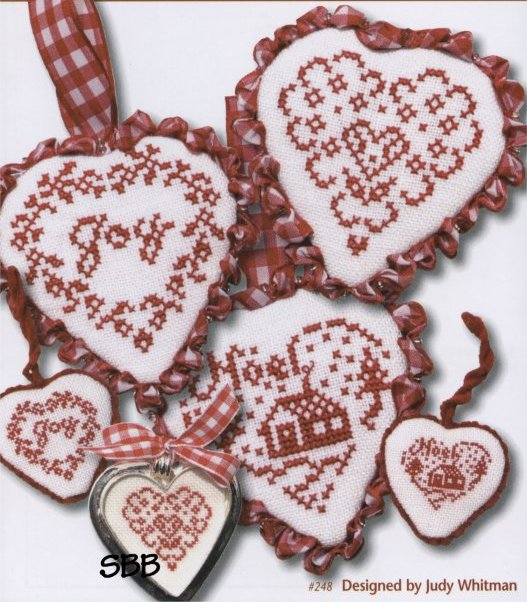 JBW Designs French Country ~ Hearts I