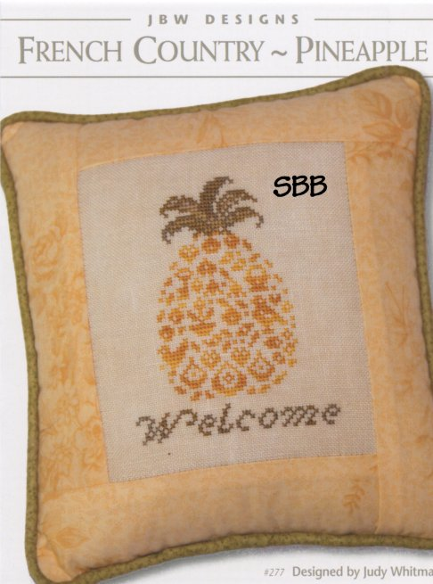 JBW Designs  French Country ~ Pineapple