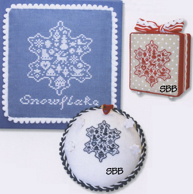 JBW Designs  French Country ~ Snowflake