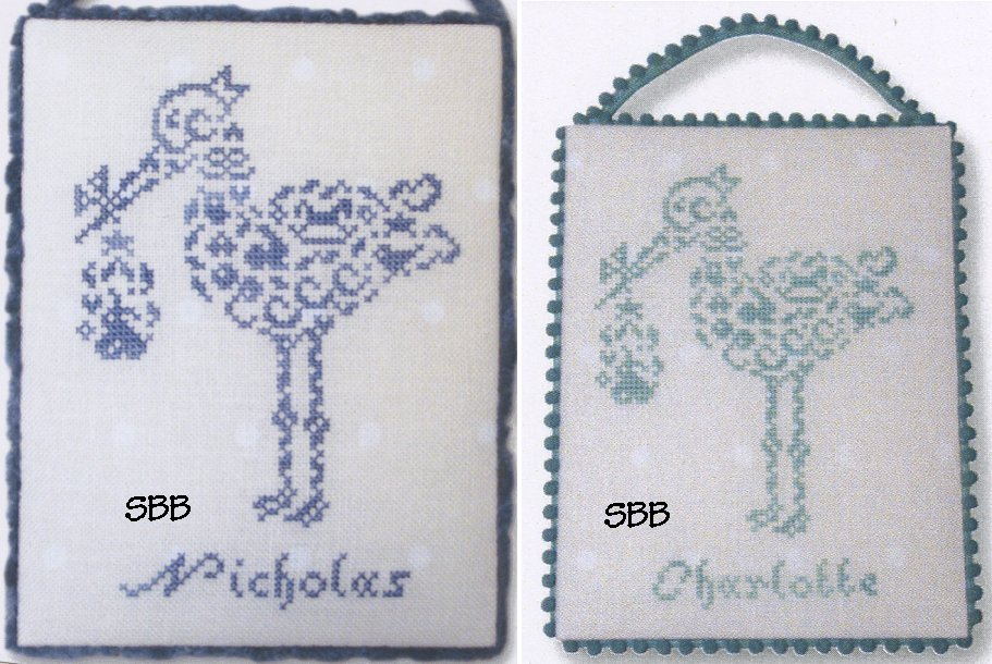JBW Designs  French Country ~ Stork