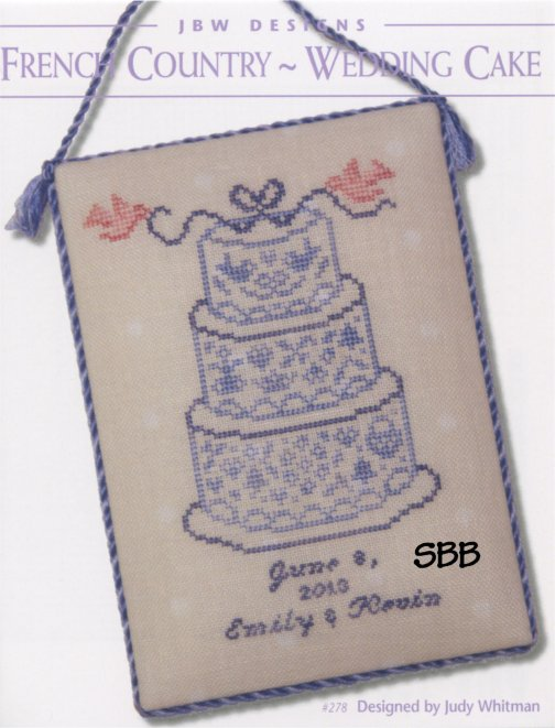 JBW Designs  French Country ~ Wedding Cake