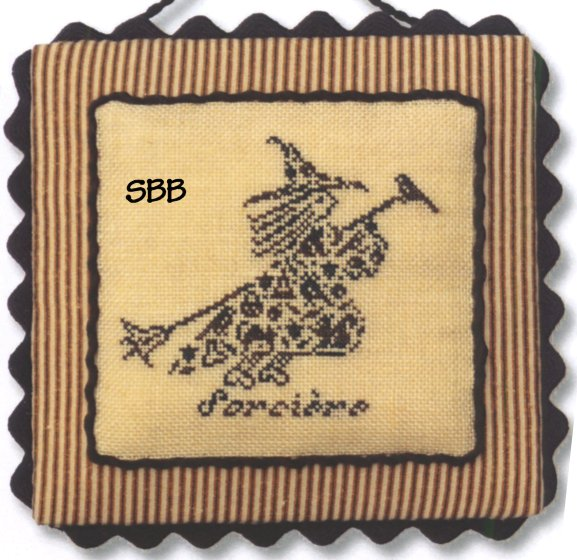 JBW Designs French Country ~ Witch