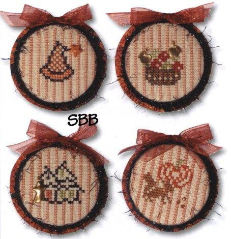 JBW Designs Halloween Ornaments II