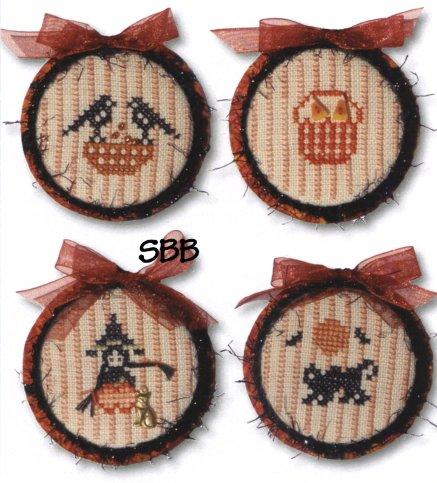 JBW Designs Halloween Ornaments III