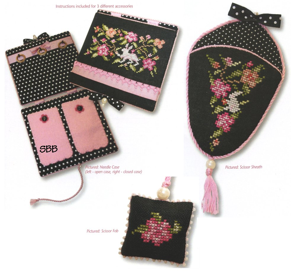 JBW Designs Le Jardin Needlework Accessories
