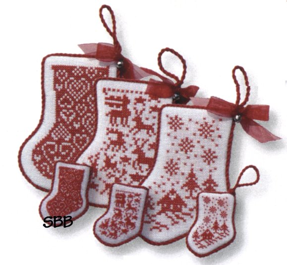 JBW Designs Red Stocking Collection II