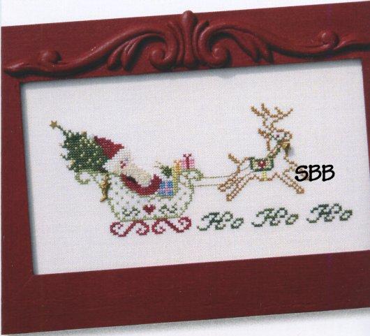 JBW Designs Santa's Sleigh Ride
