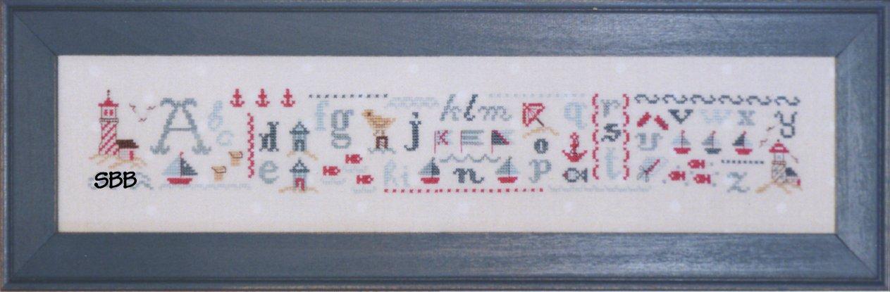 JBW Designs Seaside Alphabet