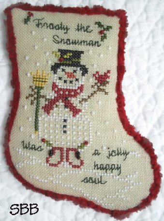 JBW Designs Frosty The Snowman