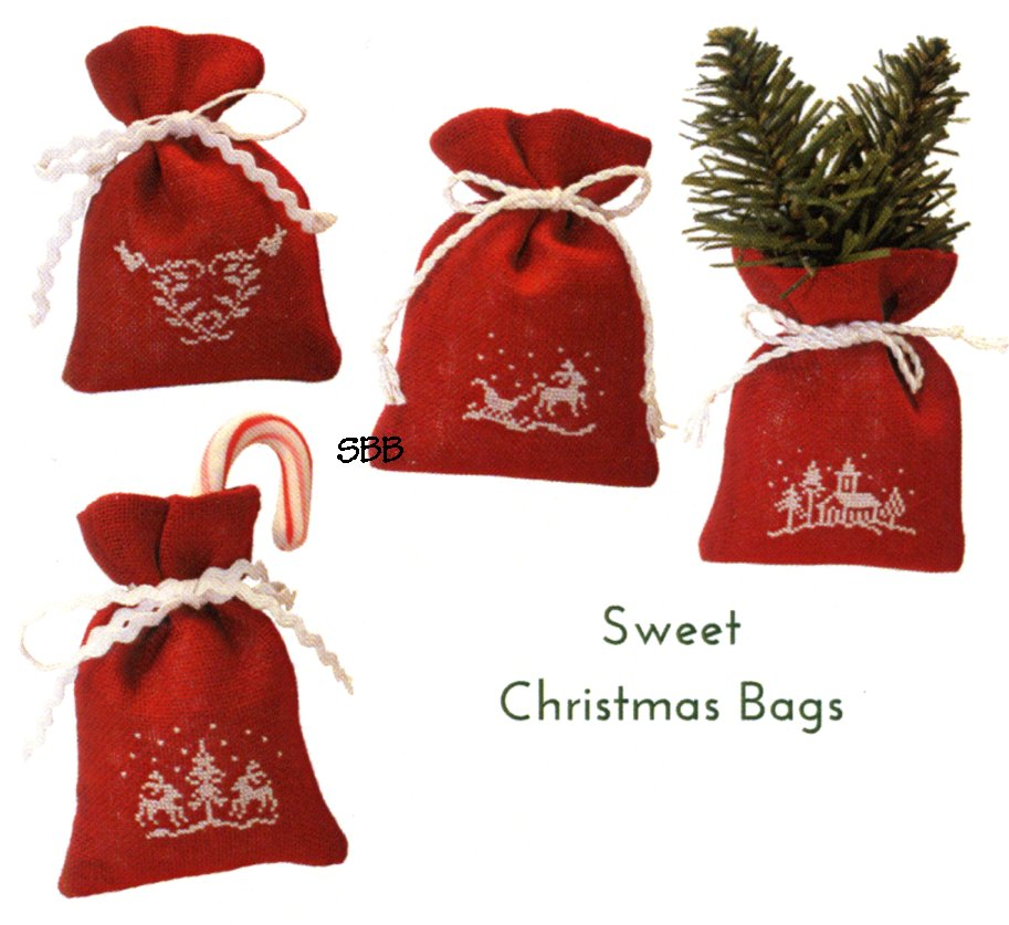 JBW Designs Sweet Christmas Bags