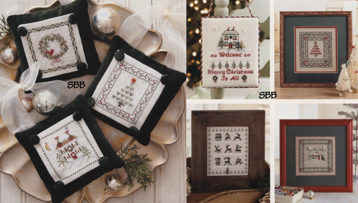 JBW Designs Sweet Nothings for Christmas (9 Designs)