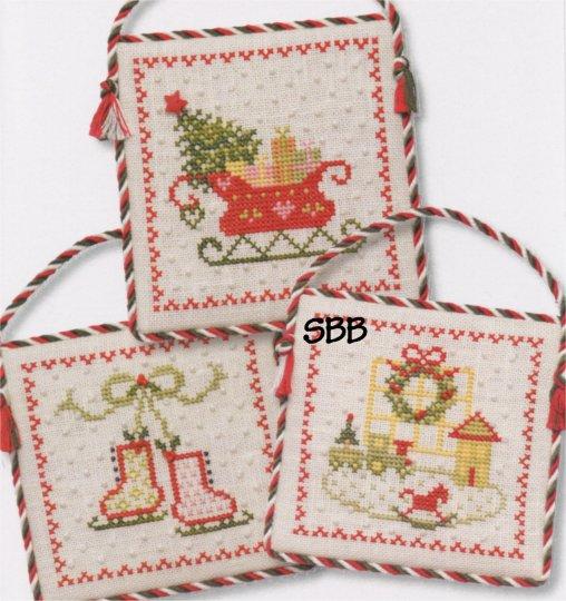 JBW Designs  Vintage Ornaments